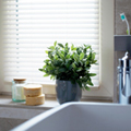 Venetian Blind in Bathroom