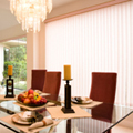 Vertical Blind Dining Room